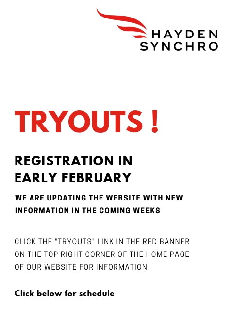 Tryouts !